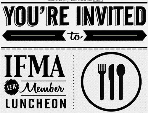 IFMA 2012 Evite