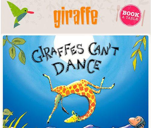 Giraffe Newsletter