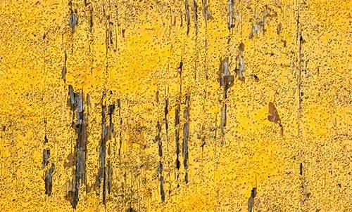 Grungy Yellow Wood