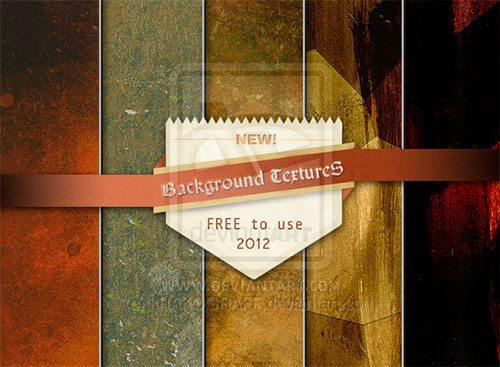 Background Textures - Vol.12 (2012) by kRAKOGRAFF
