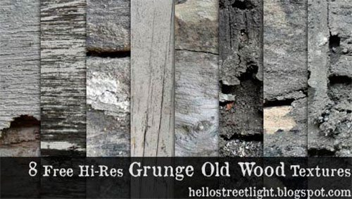 8 Hi-Res Grunge Old Wood Textures by patsulok