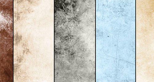 January Grunge Textures by ibjennyjenny
