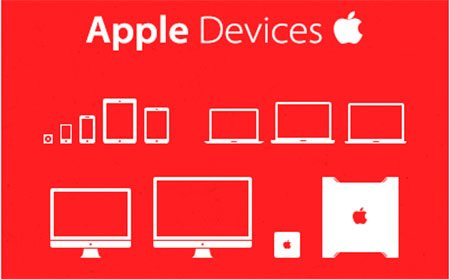 Apple devices iconset by Oleg Laptev