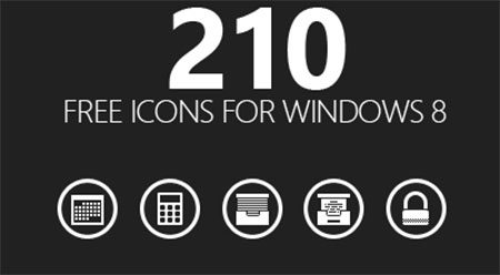 210 Free Icons for Windows 8 by Oliviu S