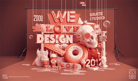 We Love Design by Peter Tarka