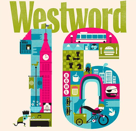 Westword - 30 Years of the 16th Street Mall by Shaw Nielsen
