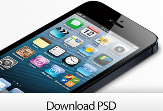 iPhone 5 Template by Constantinos Demetriadis