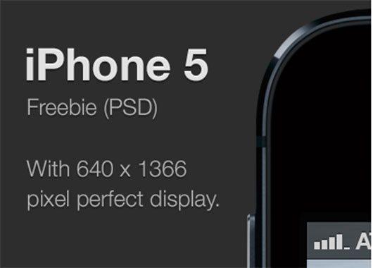 iPhone 5 freebie by Roy Abbink