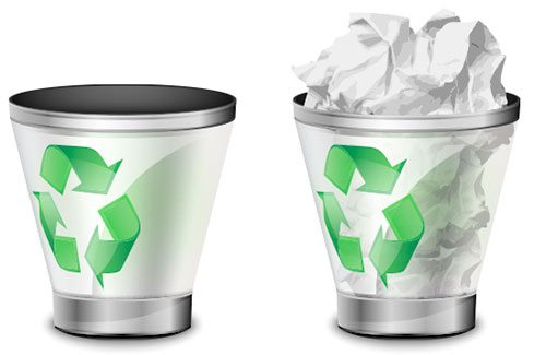 How to Create a Trash Bin Icon
