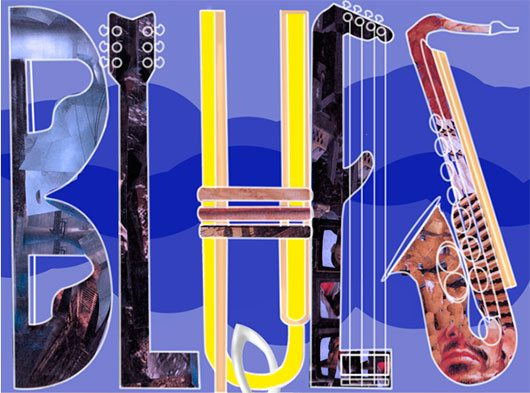 Blues And Jazz Rib Fest Poster by Cody Colburn