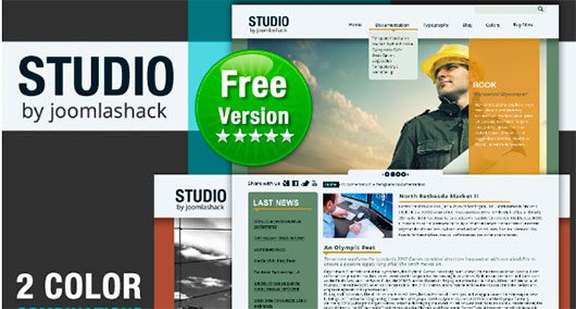 Studio Joomla Template