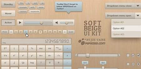 Soft Beige UI Kit