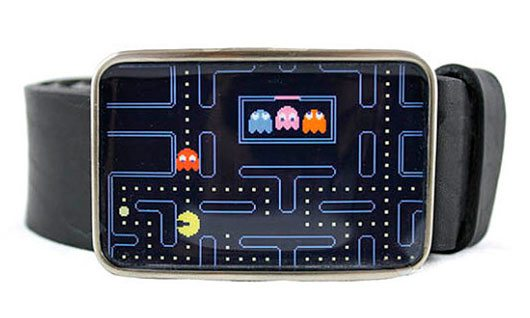 Pac Man Belt Buckle