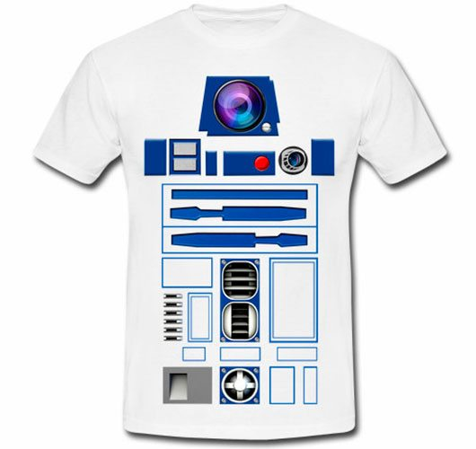 Funny Geek Star Wars R2D2 Robot Droid