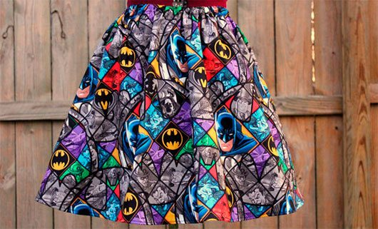 Aline Batman Skirt