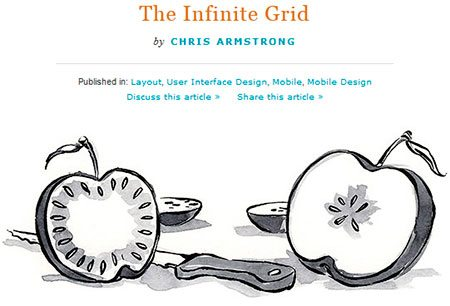 The Infinite Grid by Chris Armstrong