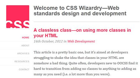 A classless class—on using more classes in your HTML