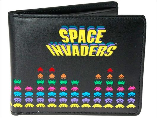 Space Invaders Wallet & Cufflink Set