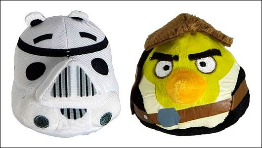 Angry Birds Plush - Star Wars