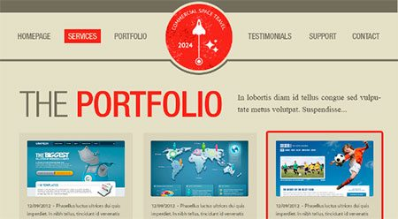 Design A Vintage Portfolio Layout Using Photoshop