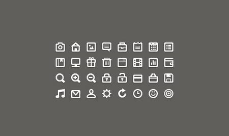 16x16px Icon Set by Roman Bulah