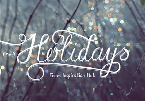Happy Holidays Desktop Wallpaper by Tom Chalky