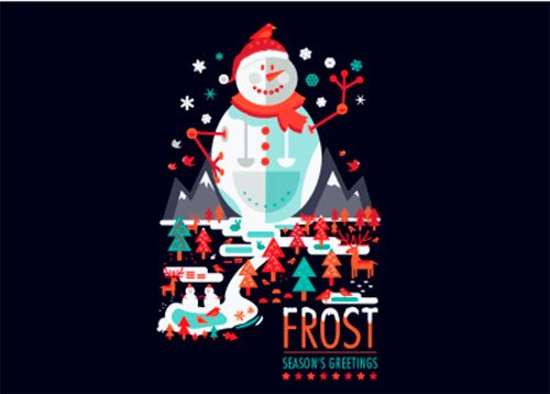 Frost by Petros Afshar