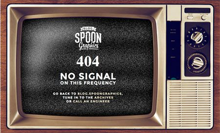 Create a TV Screen 404 Page with Clever CSS Tricks