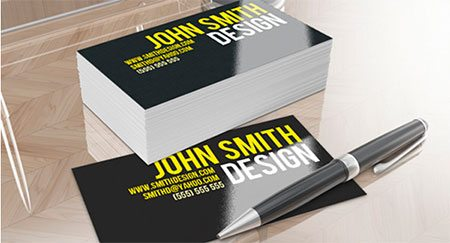 Smithy Business Card Template by RobbyDesigns