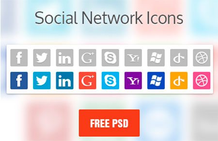 Social Network Icons by Lewis