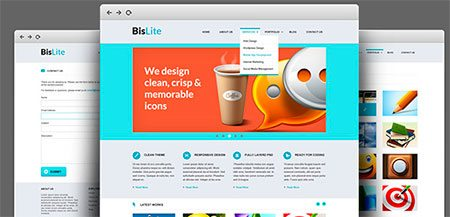 BisLite - Business Website Template