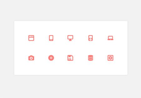 Device & Storage Icons by Elliot