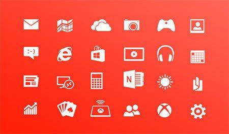 Windows 8 Metro Icons