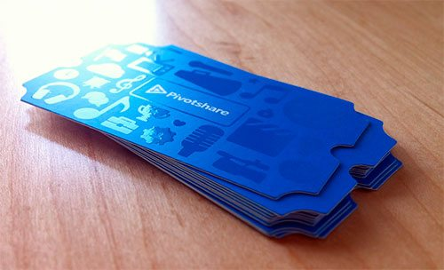 Ticket Business Card-Printed by Ryan Ford