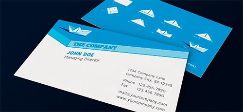 Paper Ship Corporate Design