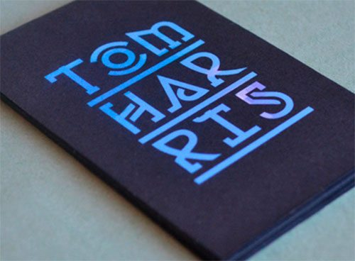 Tom Harris Business Card by Chris Mizen