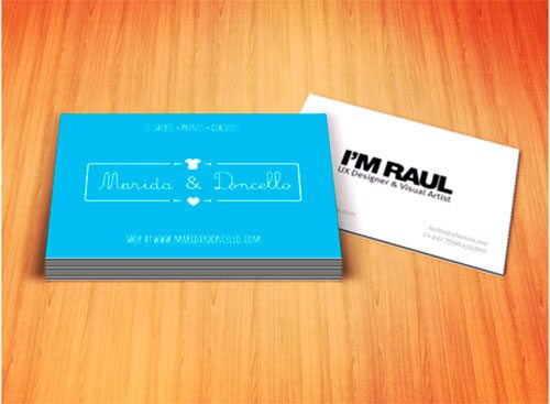 Marida & Doncello Business Card by Raul