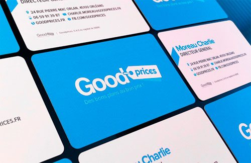 Goodprices business card