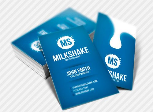 MilkShake Business Card