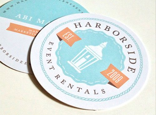 Harborside Business Cards by Brent Holloman