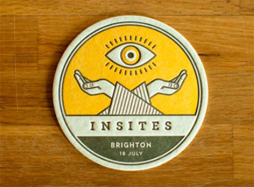 Insites Coaster by Aaron Robbs