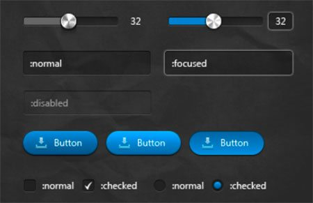 Custom Form Controls by Pavel Kiselev