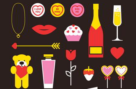 Valentines Vector Pack