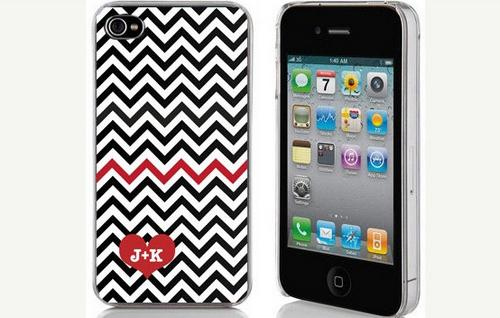Personalized Chevron Valentines Case