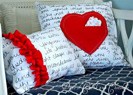 Love Note Pillows and a Question