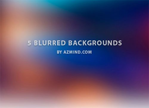 5 Free Blurred Backgrounds