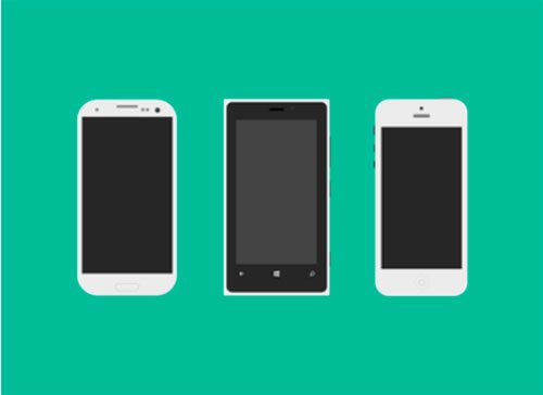 Mobile Flagships with PSD by Bluroon