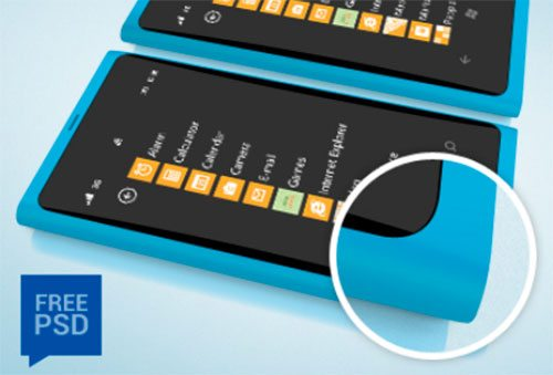 Nokia Lumia Phone Mock Up by Oliviu S