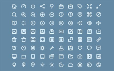 Icon Set Sketchapp by Luc Chaffard
