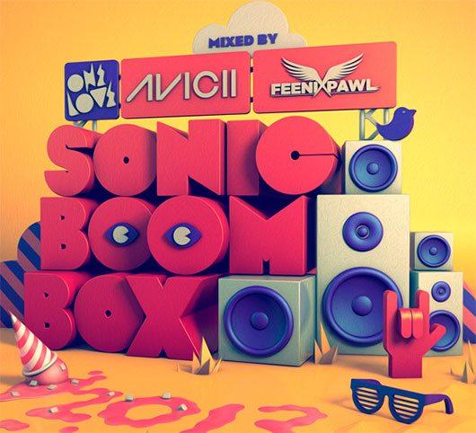 Onelove Sonic Boom Box 2013